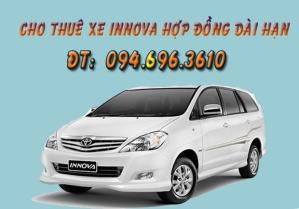 Cho thuê xe innova giá rẻ nhất